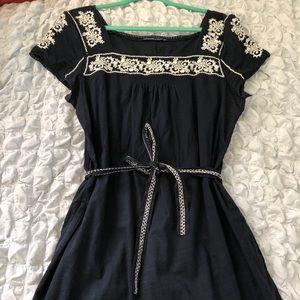 Navy Abercrombie dress